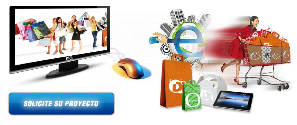 4bf753aded1f6 Diseño web tiendas online y Diseño de páginas web Ecommerce. tienda ...